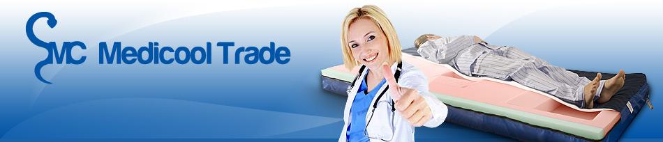 Medicool Trade - zdravotnické potřeby, antidekubitní matrace, resuscitační vozíky